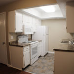Kitchen one bedroom unit